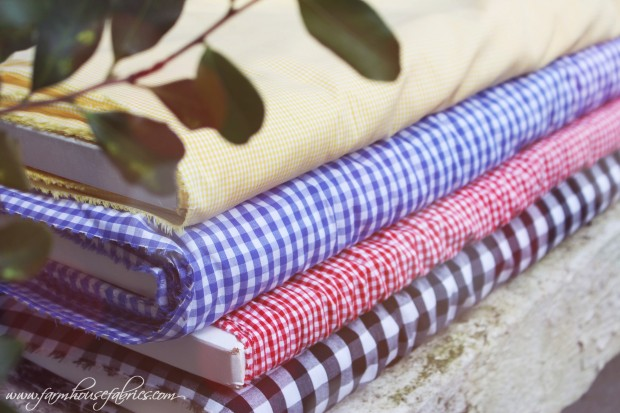 Farmhouse Fabrics Gingham