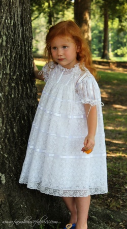 Farmhouse Fabrics Lace Dress