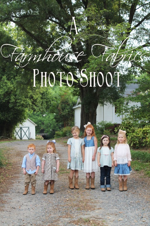 Farmhouse Fabrics Photo Shoot