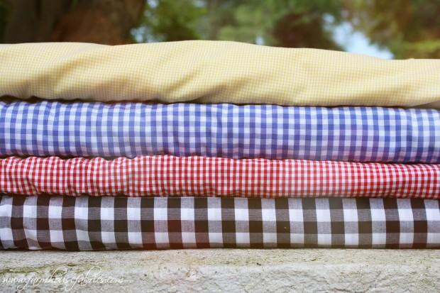 Gingham Farmhouse Fabrics