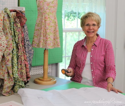 Miss Sally of Farmhouse Fabrics