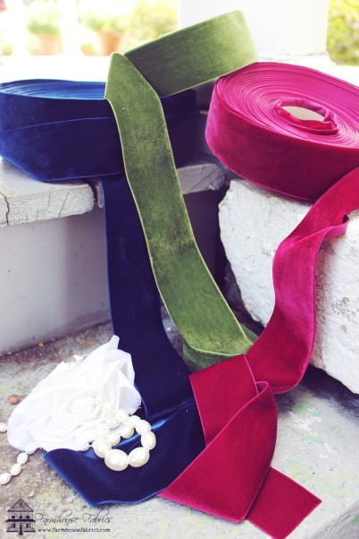 FarmhouseFabrics Velvet Ribbon
